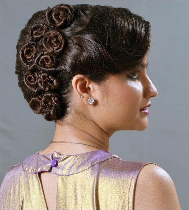 Simple Juda Hairstyle For Wedding: Bridal Hairstyles: 38 Gorgeous Looks For This Wedding Season