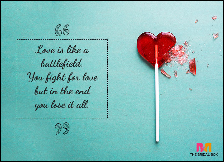 One Sided Love Quotes - May The Best Man Win