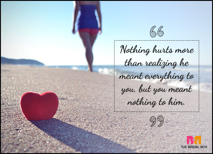 One Sided Love Quotes - Nothing