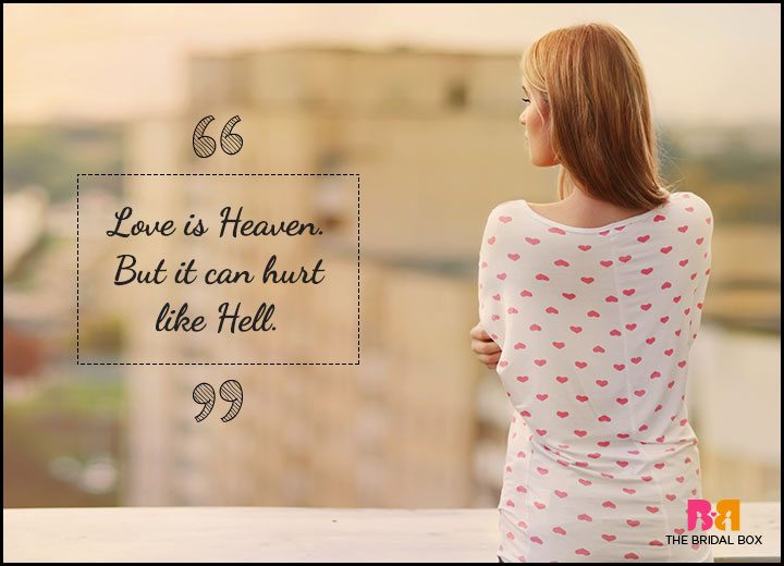 One Sided Love Quotes - Love Is Heaven