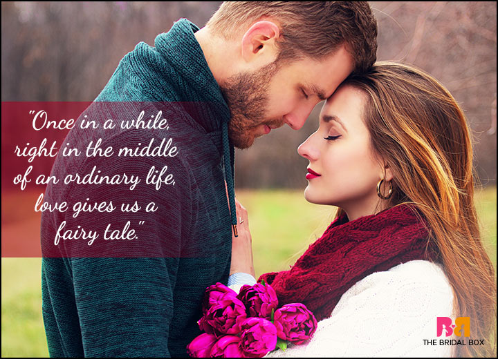 Passionate Love Quotes - In The Middle Of An Ordinary Life