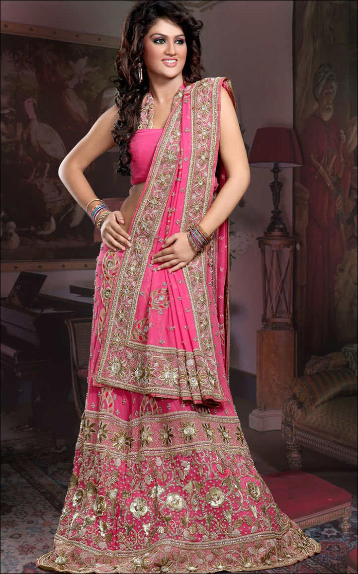 Indian Wedding Dresses - Pink Siren