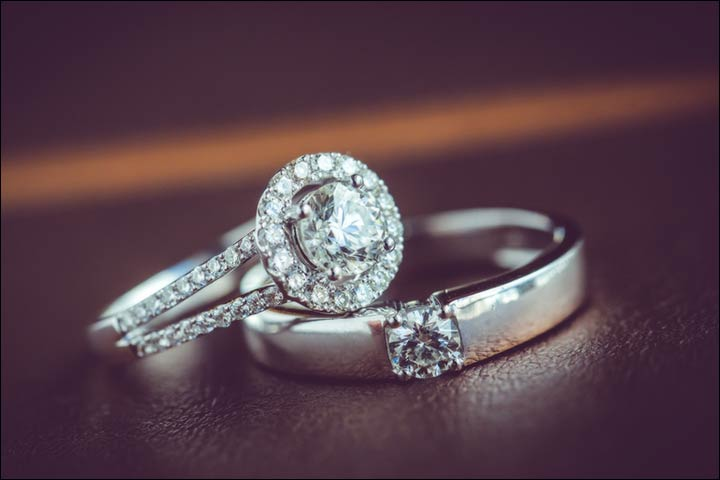 Engagement Rings For Couples - Platinum Twosome
