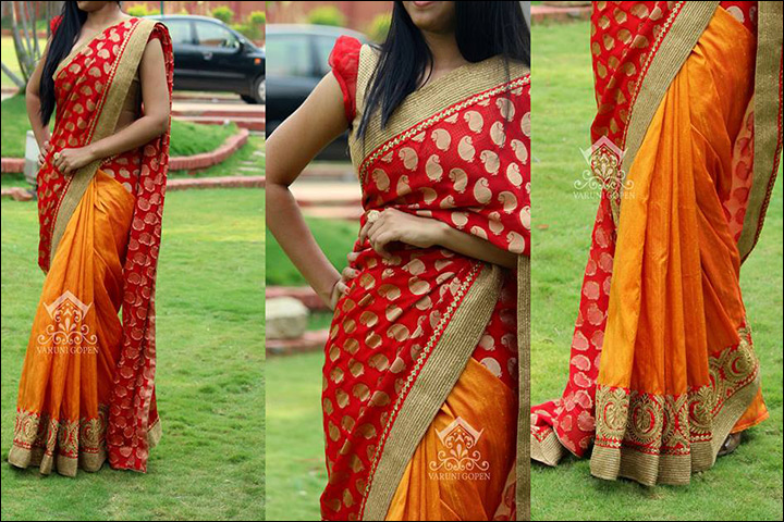626456e3211de South Indian Wedding Sarees  20 Top Designs Of 2016