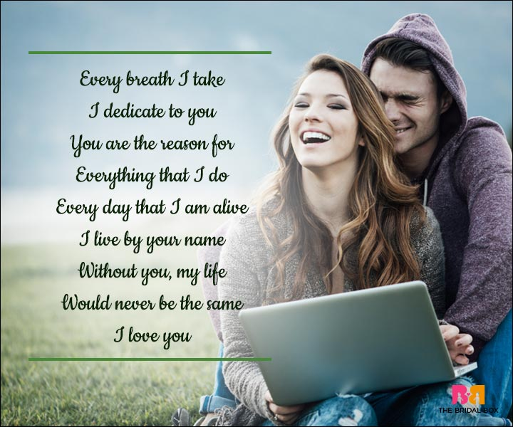 without you poems for him