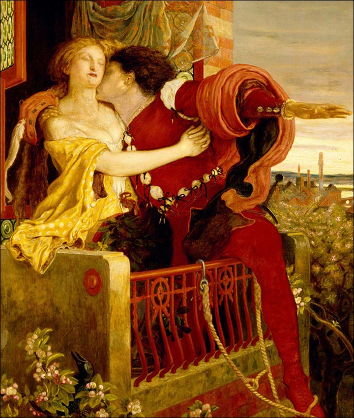 Tragic Love Stories - Romeo And Juliet by William Shakespeare