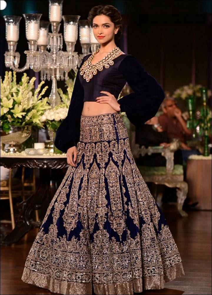 Indian Wedding Dresses - Royal Blue Affair