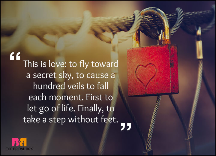 Rumi Love Quotes - Flying Without Wings