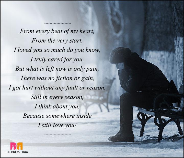 sad love poems for - photo #25