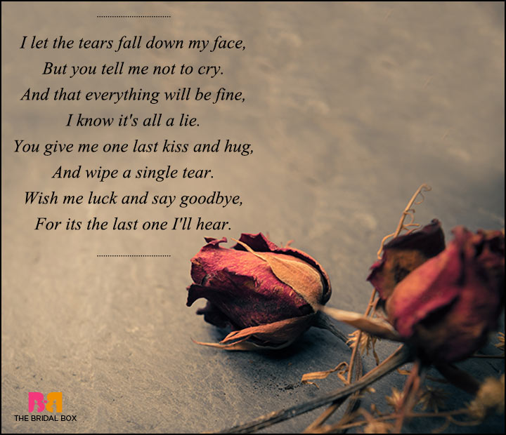 sad love poems for - photo #9