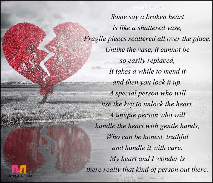 sad love poems for - photo #14