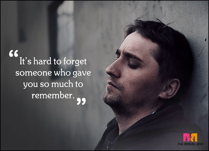 Sad Love Quotes - So Much To Remember