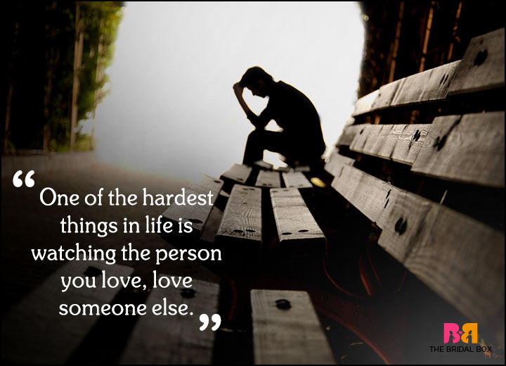 Sad Love Quotes - The Hardest Thing