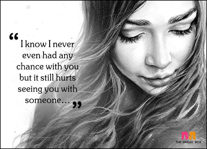 Sad Love Quotes - Never Had A Chance