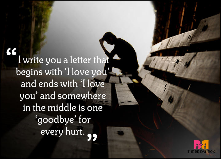 Sad Love Quotes - Too Many Goodbyes For The Cactus