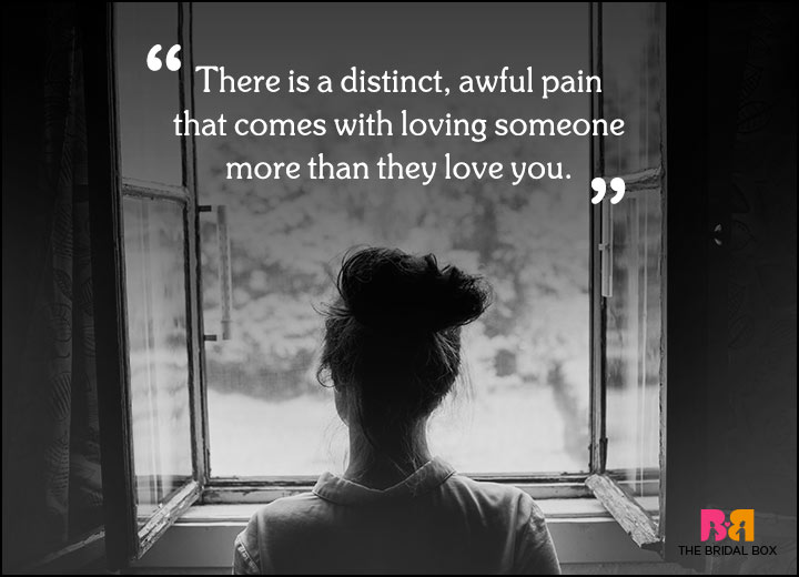 Sad Love Quotes - A Distinct Awful Pain From Liking A Cactus