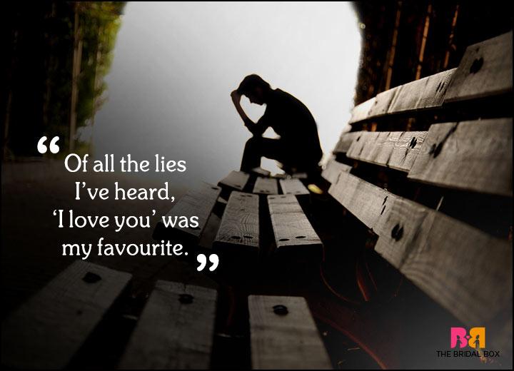 Sad Love Quotes - Cactus Talkies