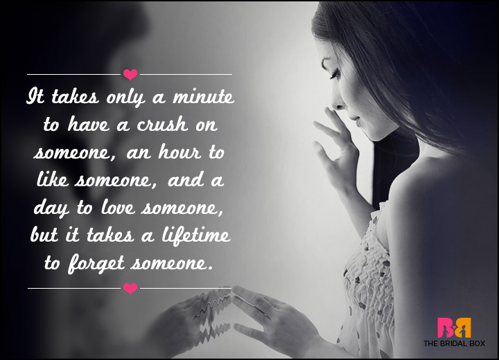 Sad Love SMS Messages - A Lifetime To Forget