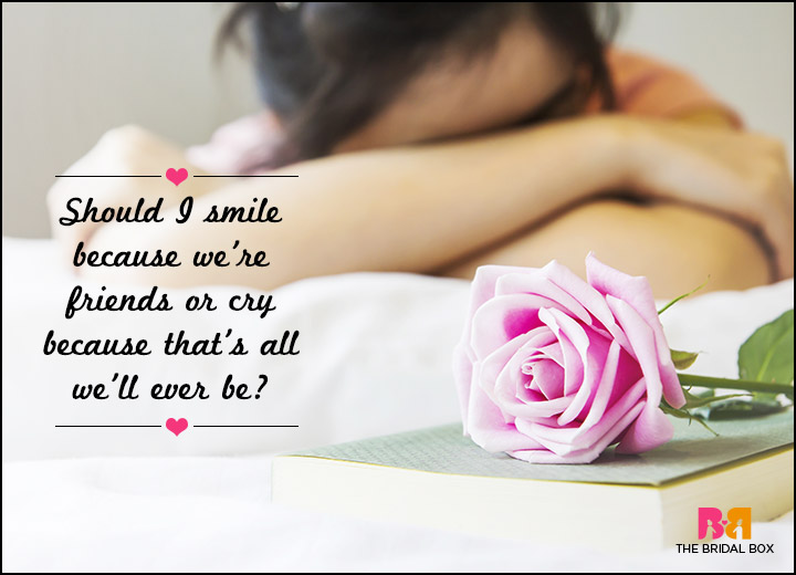 Sad Love SMS Messages - Should I Smile Or Cry?