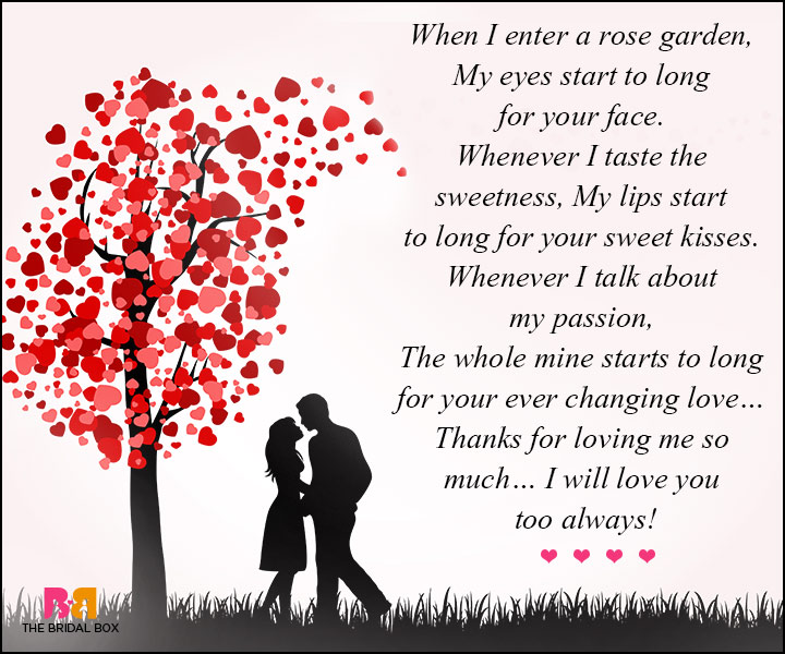 Short Love Poems For Her - Your Garden Of Love
