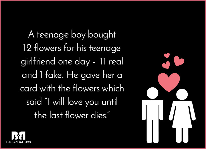 Short Teenage Love Stories - The Only Fake Thing About This Love