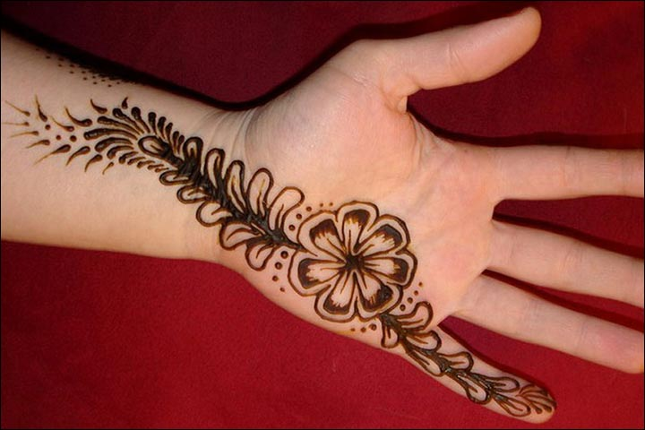 Simple Mehandi Designs - Simple Essence