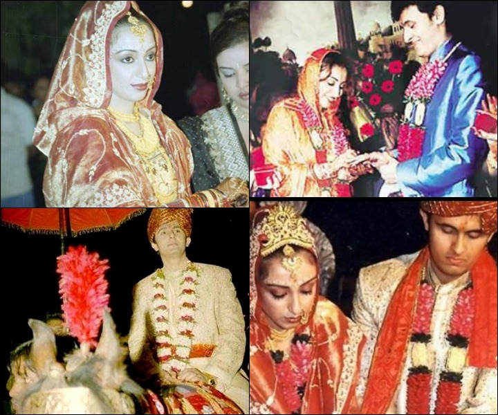 sonu nigam marriage photos - Sonu Nigam And Madhurima Nigam At Their Wedding