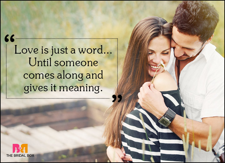 Spiritual Love Quotes - Just A Word