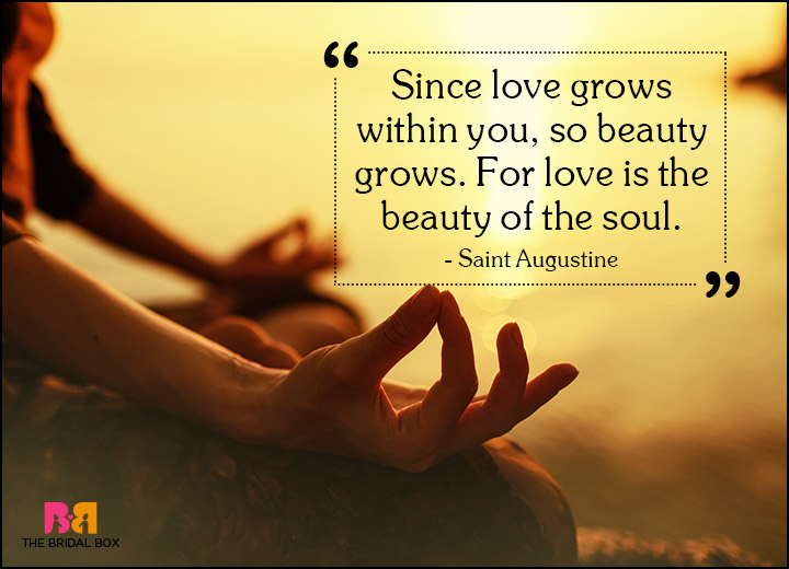 Spiritual Love Quotes - Beauty Grows