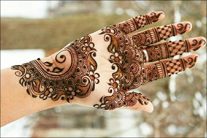 Mehndi Palm Design : Palm mehndi designs from simple to stunning