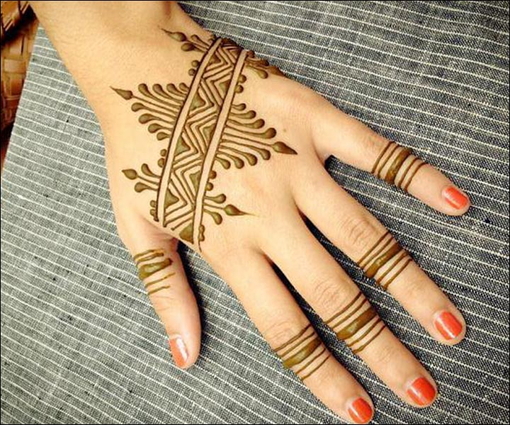 Simple Mehandi Designs - Stylish To The Core