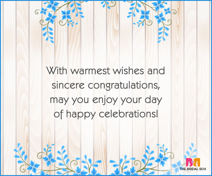 Engagement Wishes - The Warmest Wishes