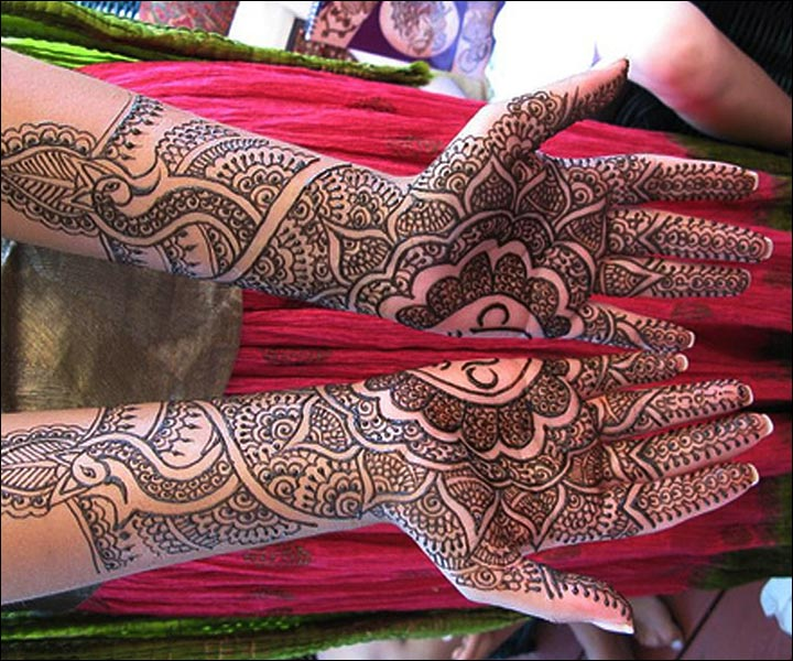 Mehndi Design For Bridal Collection : Top bridal mehndi designs of beautiful henna