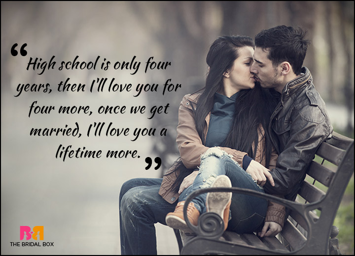Teen Love Quotes Best 11 Teen Love Quotes For The Free Spirits & Young At Heart