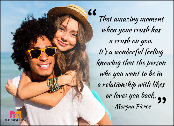 Teen Love Quotes - It's Just A Little Crush