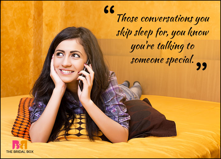 Teen Love Quotes - Those Conversations
