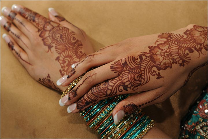 Indian Mehndi Designs - The Floral Vine