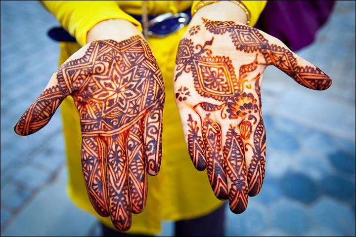 Indian Mehndi Designs - The Geometric Gem
