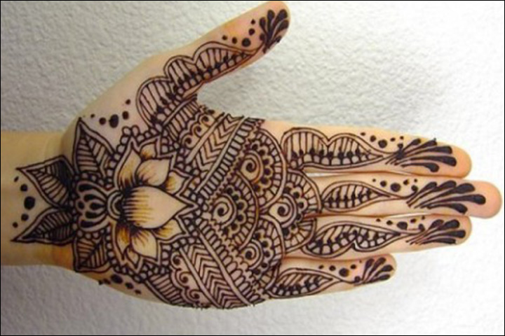 Designs Of Mehndi For Palm : Palm mehndi designs from simple to stunning