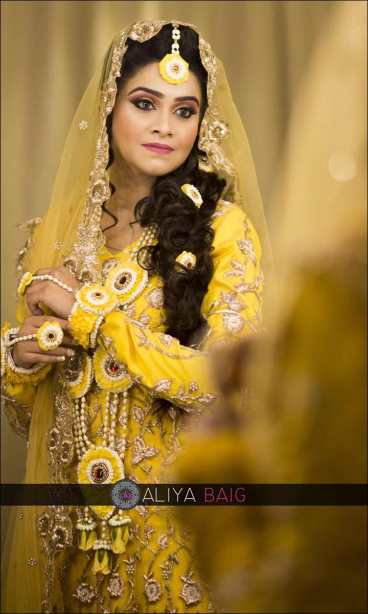 Bridal Hairstyles - The Traditional Nikah Hairstyle