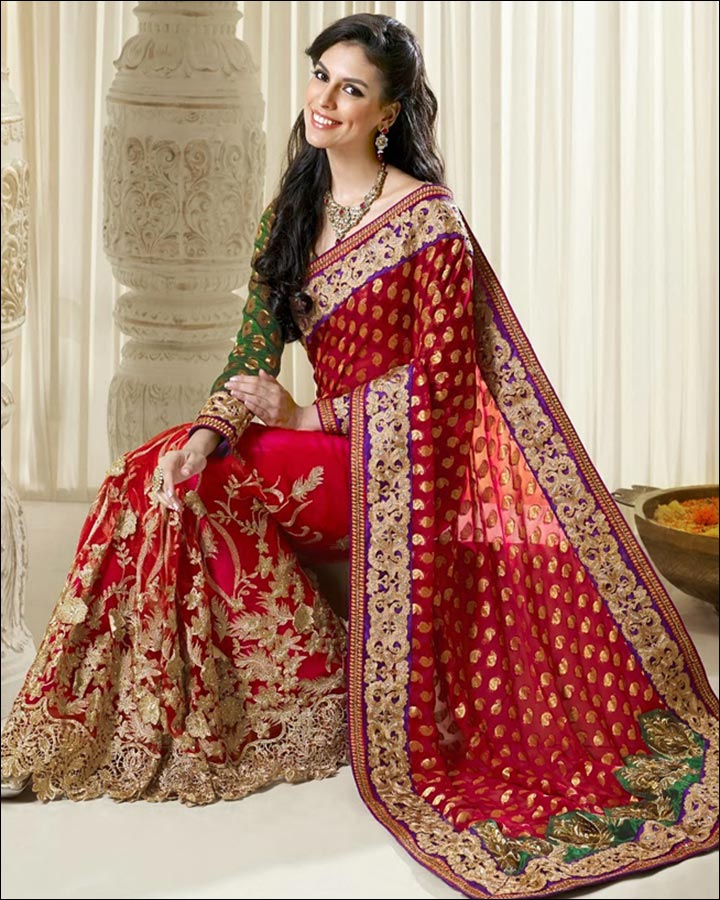 Indian Wedding Dresses The Saree