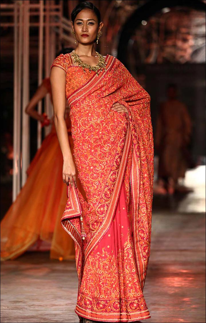 The-cluture-cluture-red-bridal-sarees
