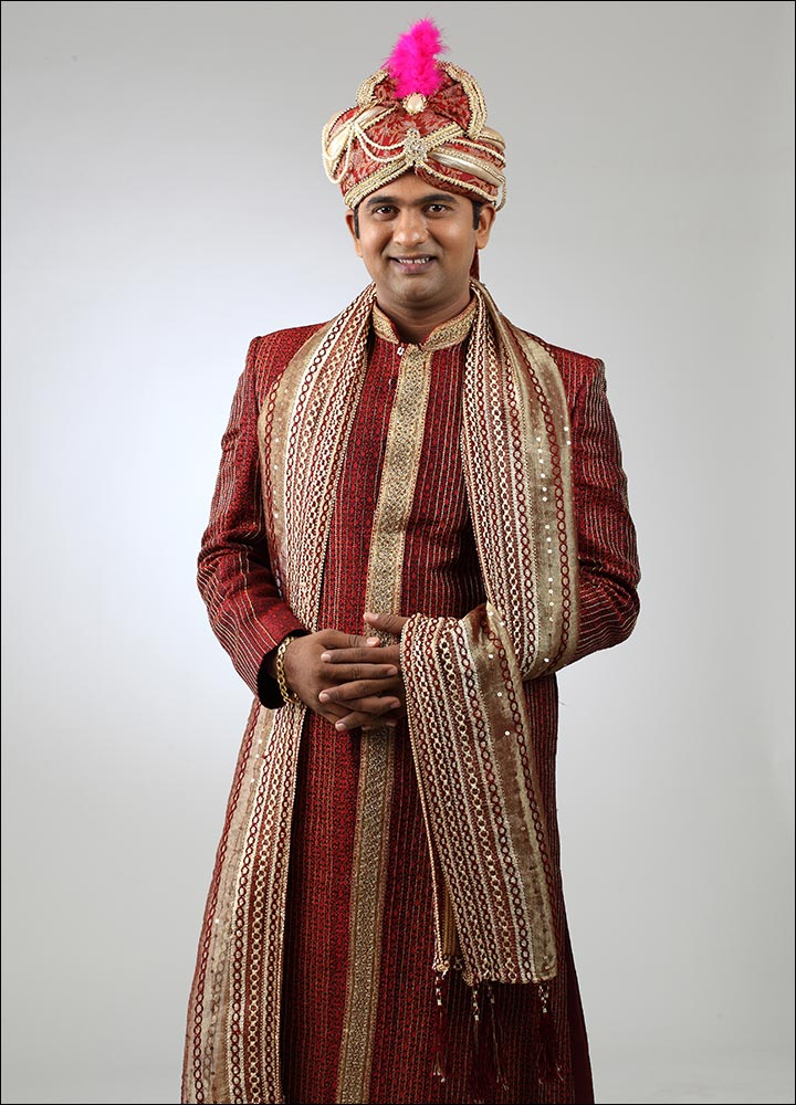 Indian Groom Dress Options - Indian Groom Dress Options - Jacquard Art Sherwani