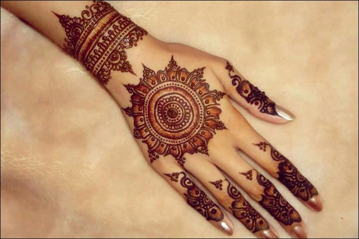 Mehndi Designs Simple : Simple mehndi designs that look fab and stylish