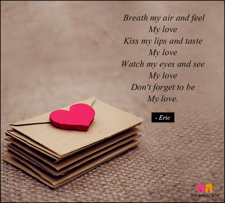 True Love Poems At The Touch Of Love Everyone Becomes A Poet