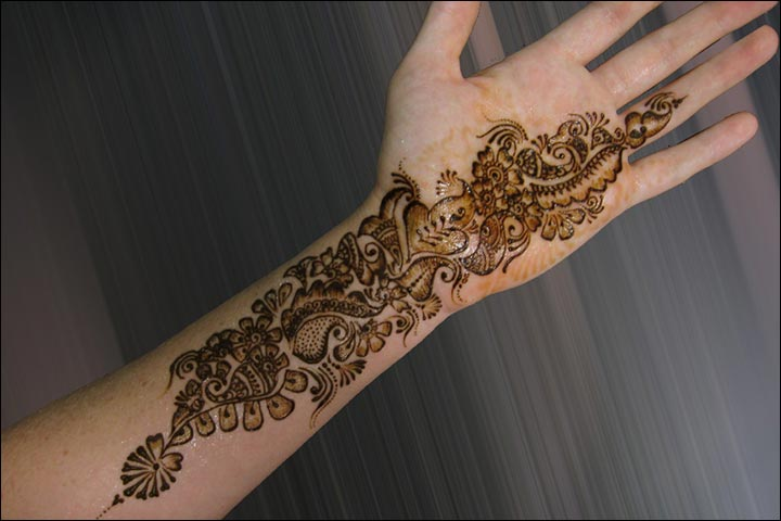 Unique And Easy Mehndi Designs : Simple mehndi designs that look fab and stylish
