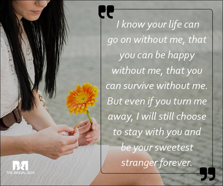 Emotional Love SMS Messages - The Sweetest Stranger