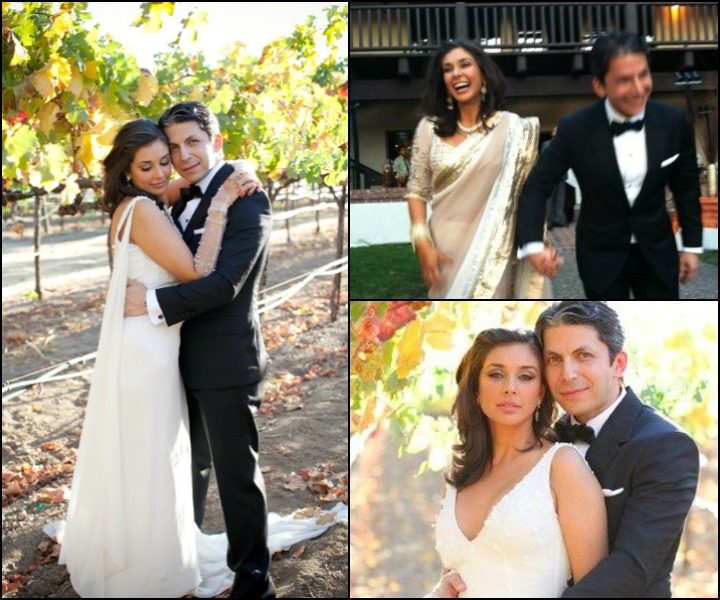 The Jason Dehni Lisa Ray Wedding – Jason Dehni And Lisa Ray At Their Wedding