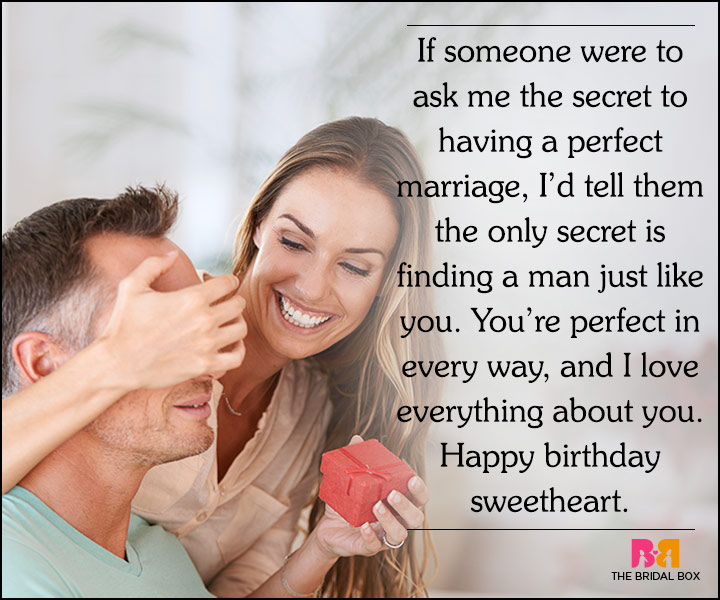 Love Quotes For Husband On His Birthday