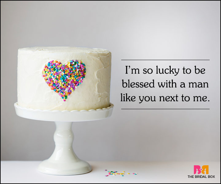 Love Quotes For Husband On His Birthday - I'm So Lucky